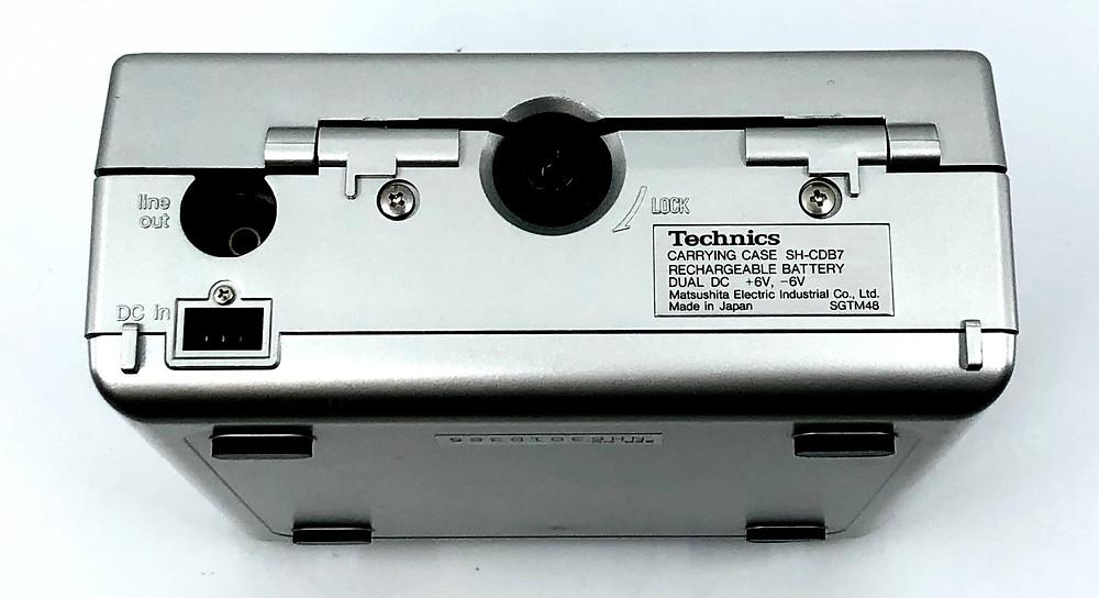 Technics SL-XP7 Portable CD Player