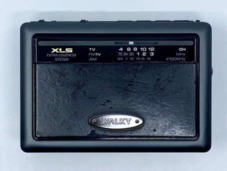 Toshiba Walky KT-G910F Portable Cassette Player