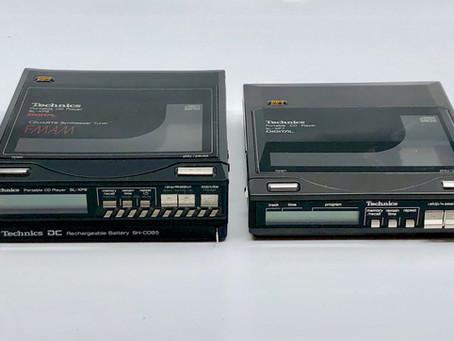 Technics SL-XP7, SL-XP8 Comparison