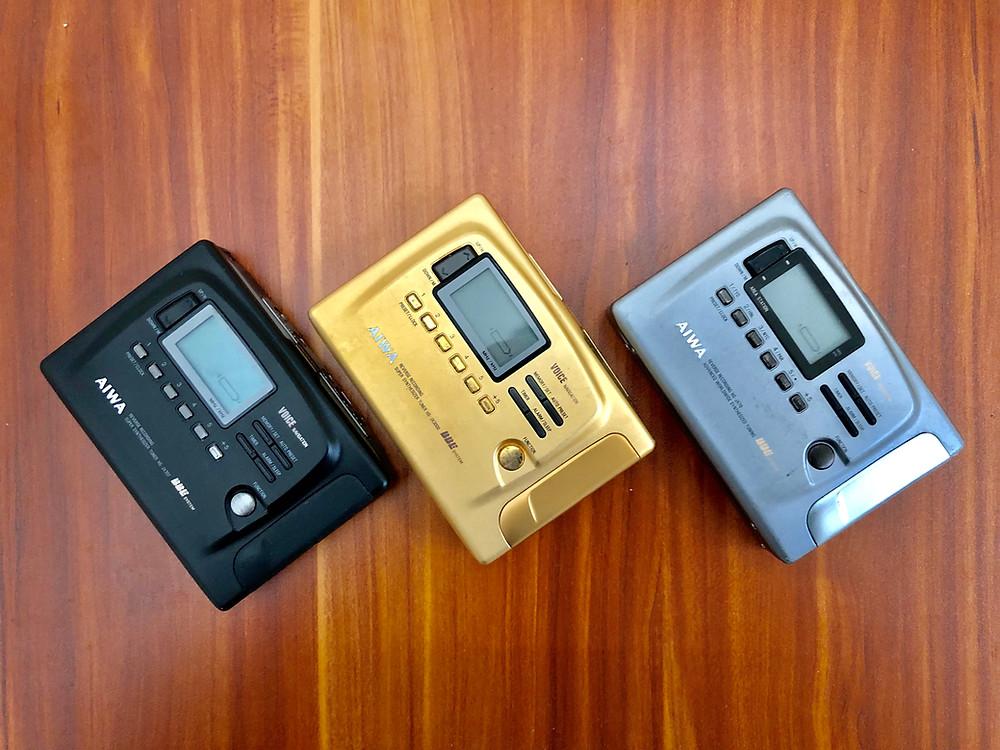 AIWA HS-JX707, HS-JX3000 and HS-JX70