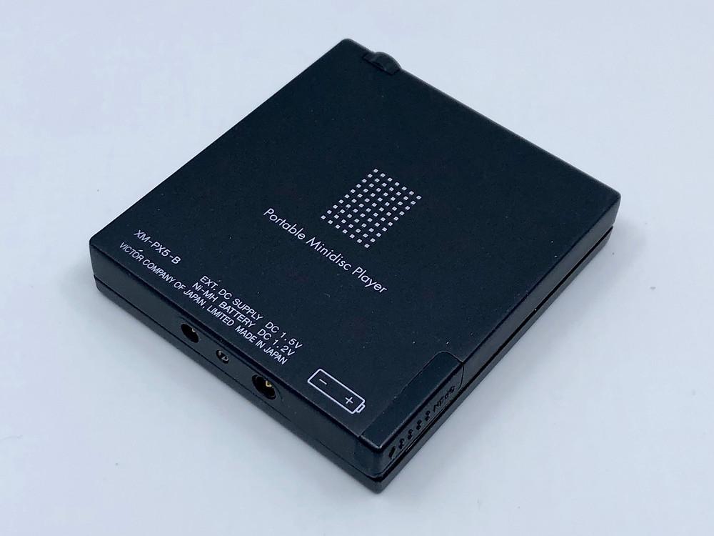 Victor XM-PX5 Black MiniDisc Player
