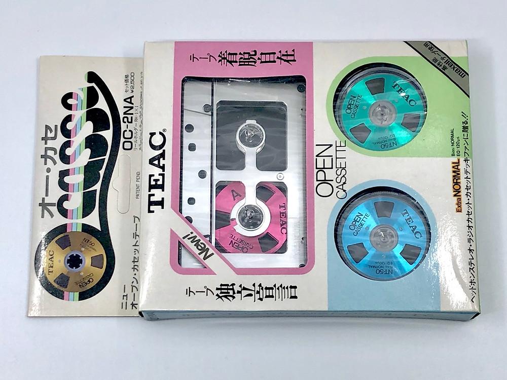 TEAC Open Cassette