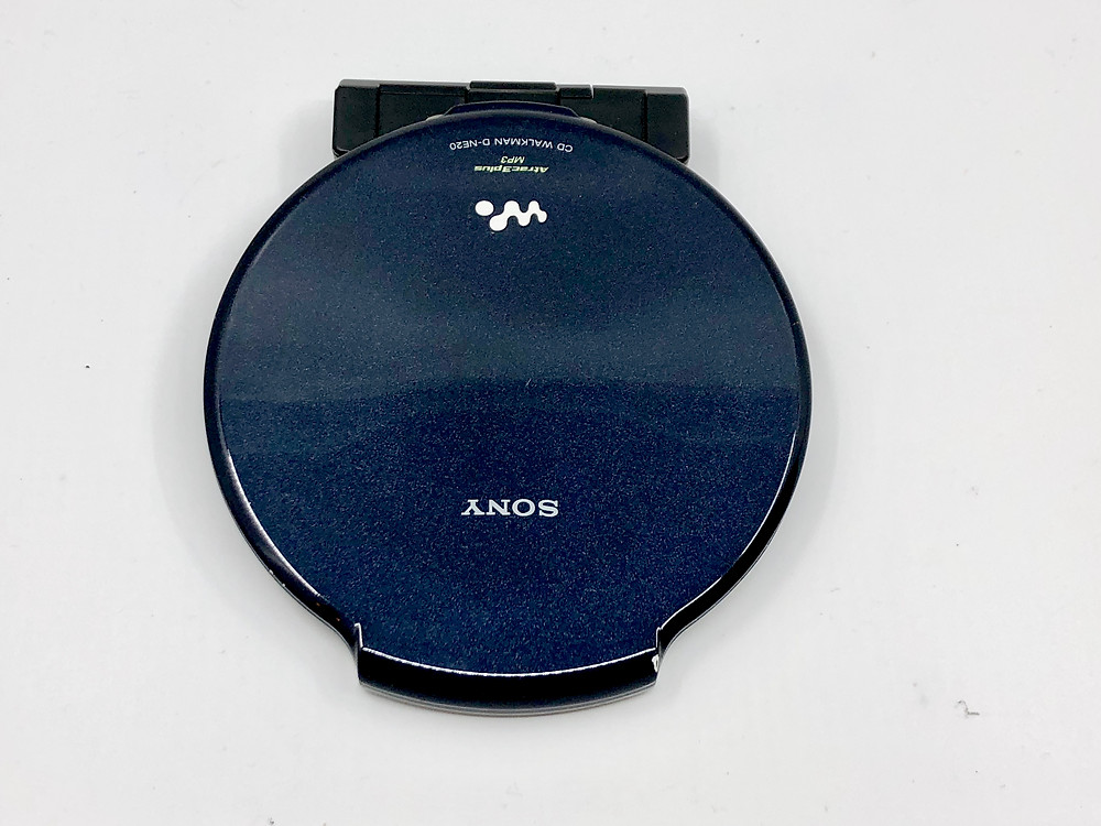 Sony CD Walkman D-NE20 Dark Blue Portable CD Player