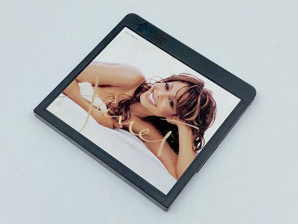 Janet Jackson All For You MiniDisc Album