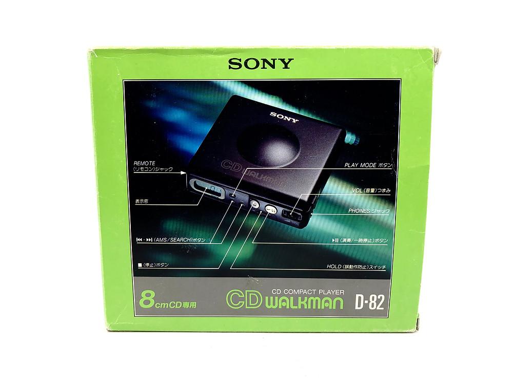 Sony CD Walkman D-82 8cm Portable CD Player