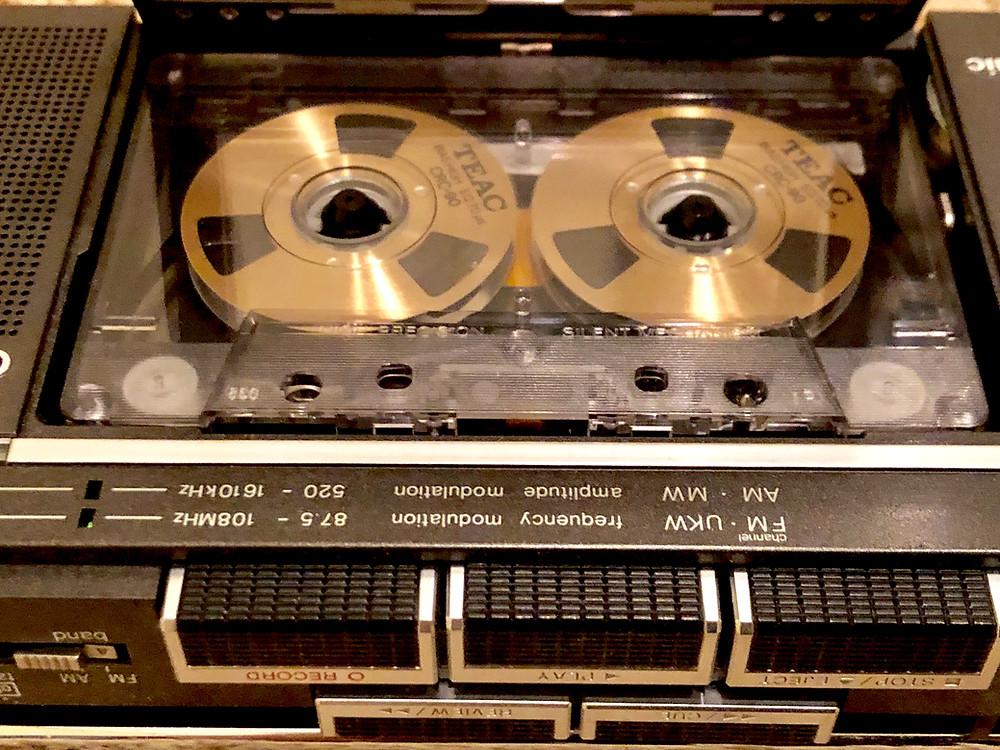 Panasonic RX-2700 Portable Cassette Player Recorder