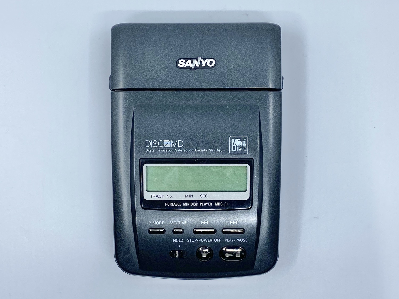 Sanyo MDG-P1 MiniDisc Recorder