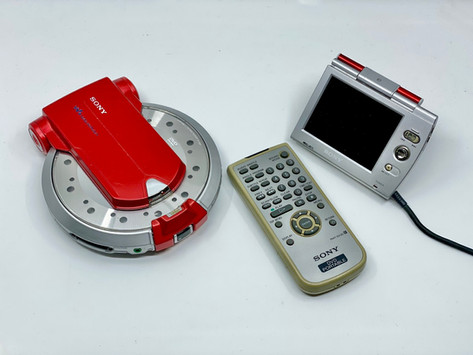Sony Walkman D-VM1 Red Portable DVD Player