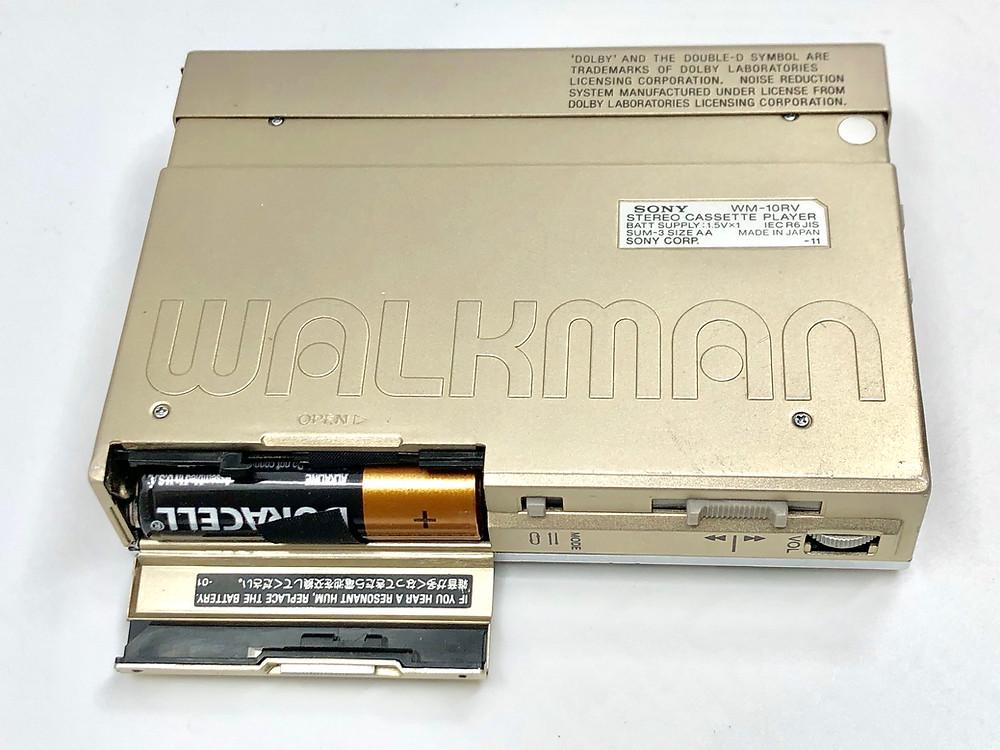 Sony Walkman WM-10RV Champagne Portable Cassette Player