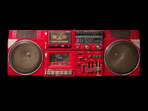 Hitachi TRK-W2 Boombox