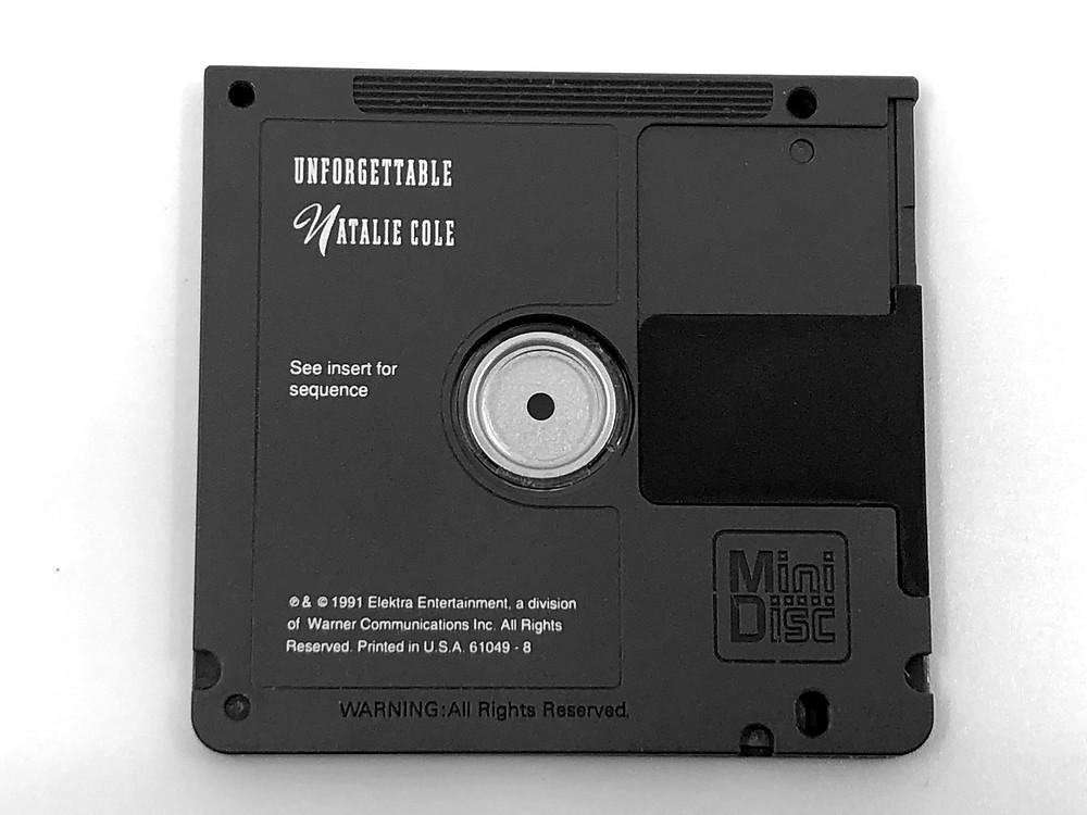 Natalie Core Unforgettable MiniDisc Album