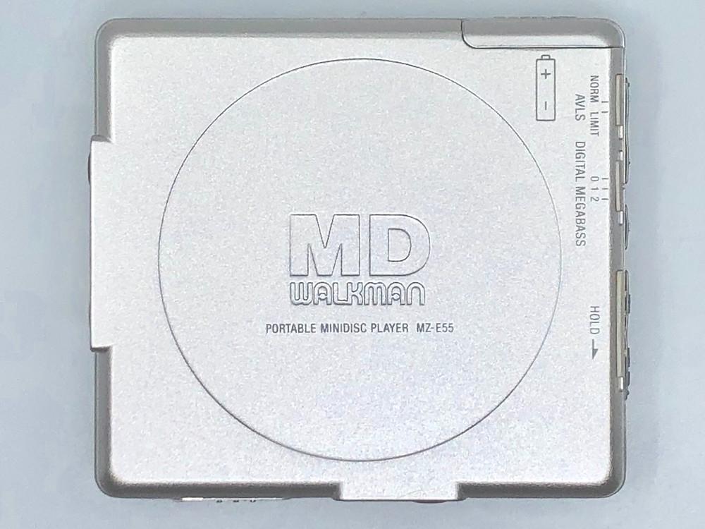 Sony Walkman Sony MZ-E55 MiniDisc Player Silver
