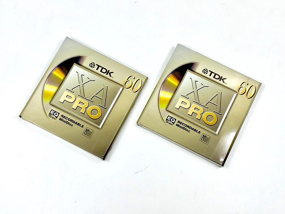 TDK XA Pro MiniDisc