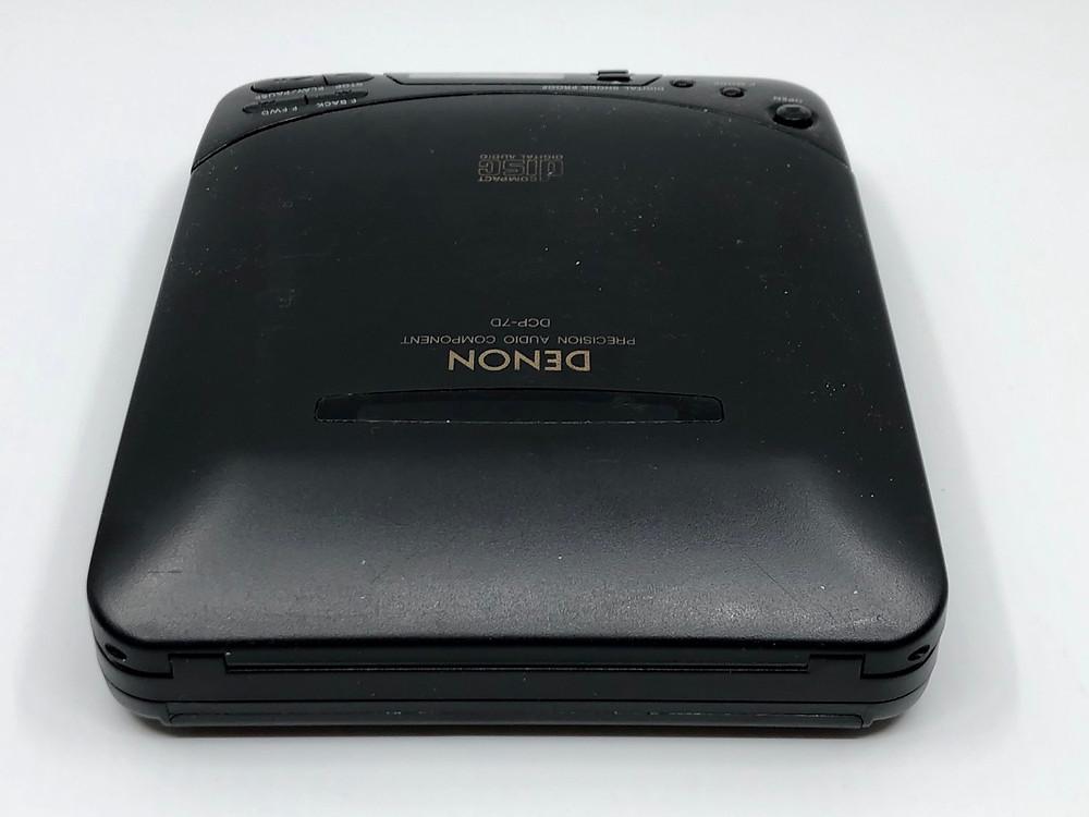 Denon DCP-7D Portable CD Player