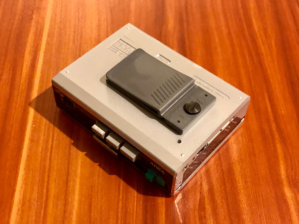 Aiwa HS-G350 Portable Cassette Player