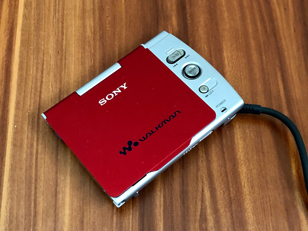 Sony D-VM1 Red Portable DVD Player