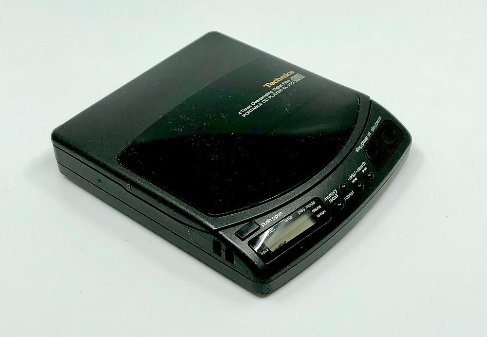 Technics SL-XP2 Portable CD Player
