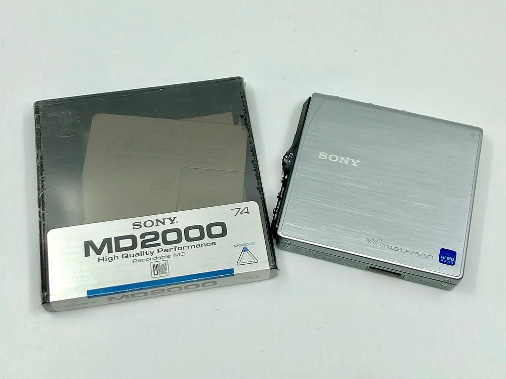 Sony MZ-NH3D Hi-MD Player