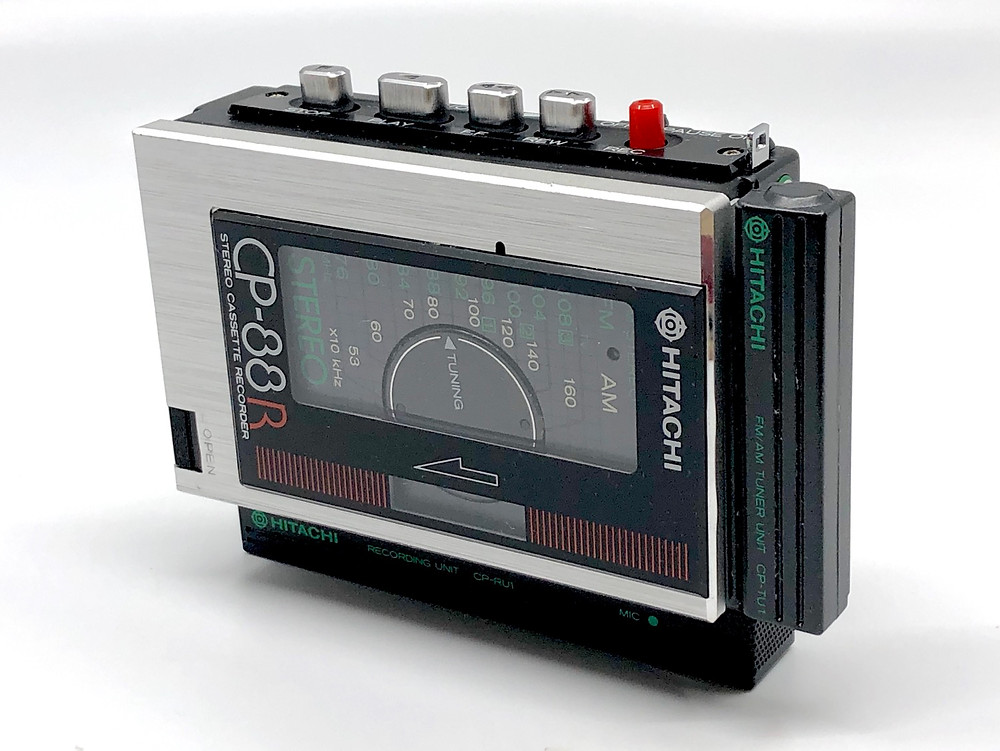 Hitachi CP-88R - The World's Smallest Portable Cassette Recorder