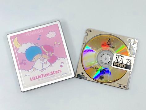 Kenwood DMC-S33 Little Twin Star MiniDisc Player