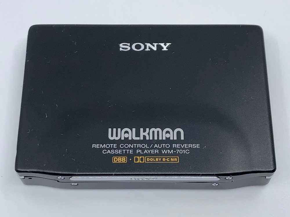Sony Walkman WM-701C Black Portable Cassette Player