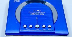 Sharp MD-ST501 MiniDisc Player