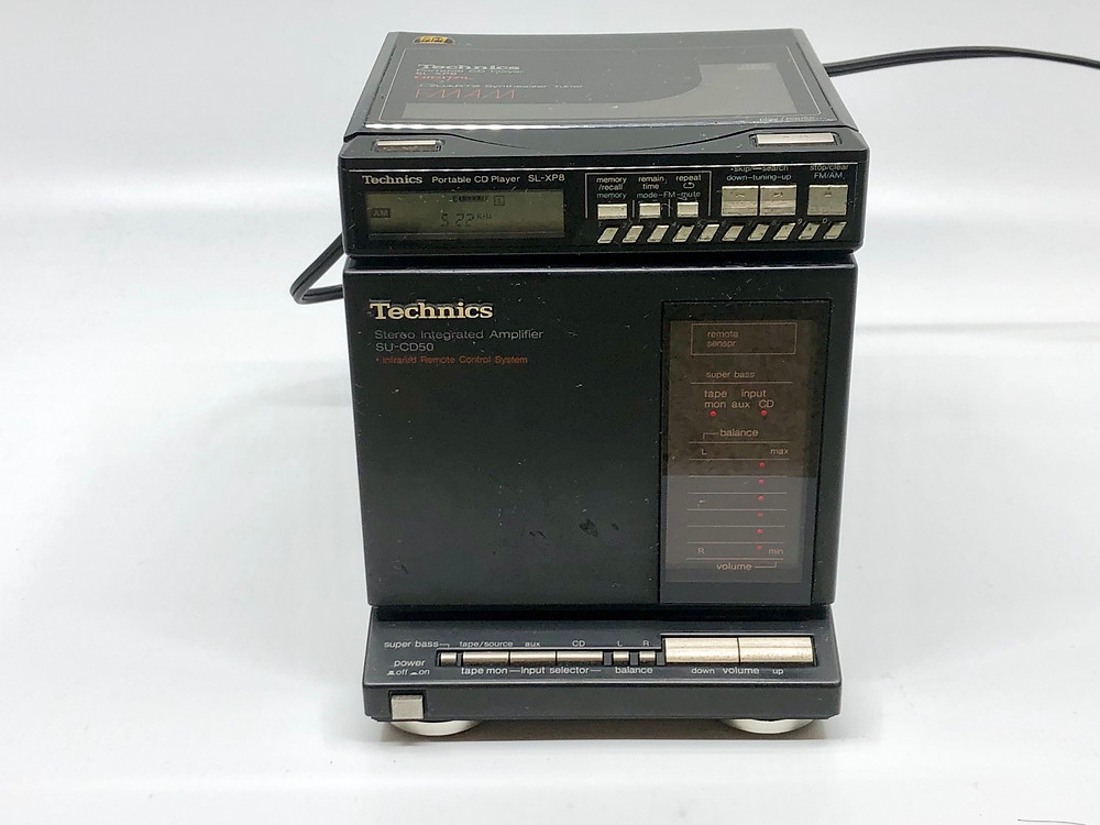 Technics SU-CD50 Amplifier and SL-XP8 CD Player Mini System