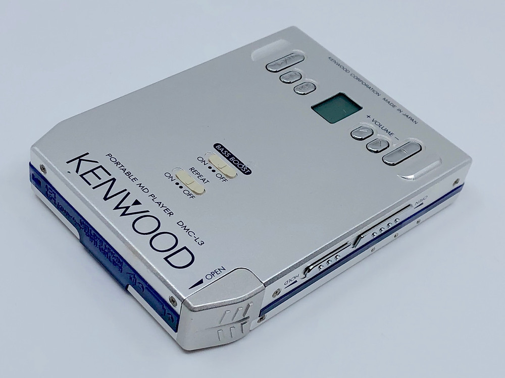 Kenwood DMC-L3 Portable MiniDisc Player