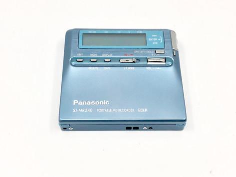 Panasonic SJ-MR240A Aqua MD Recorder