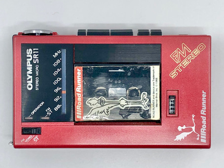 Olympus SR-11 Red Micro-cassette Recorder