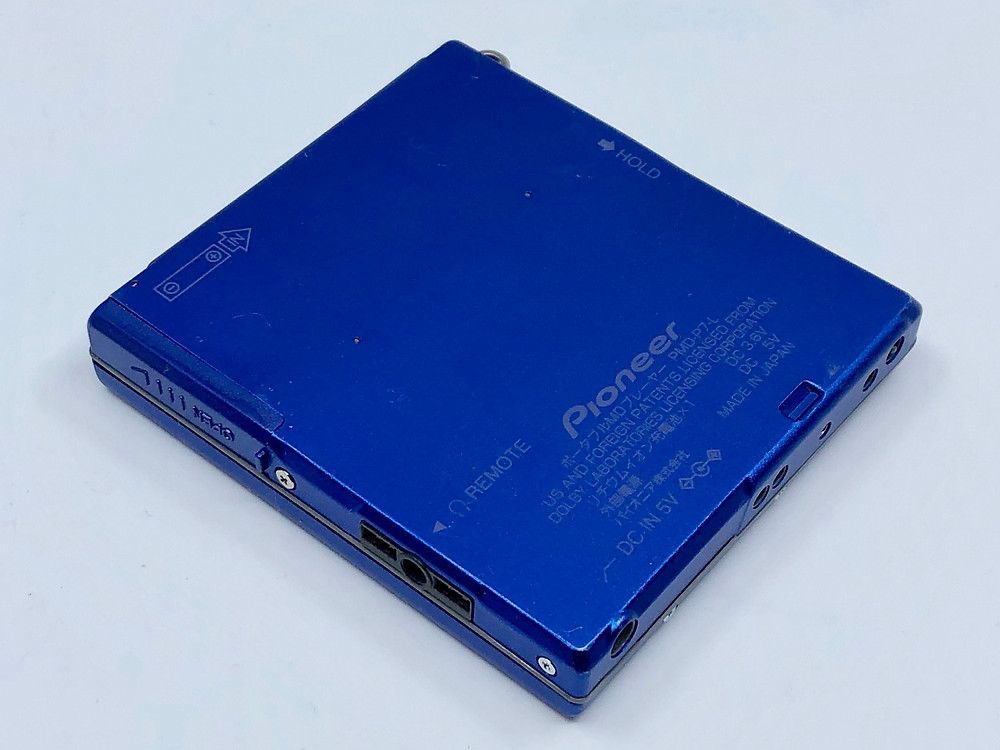 Pioneer PMD-P7 Blue MiniDisc Player