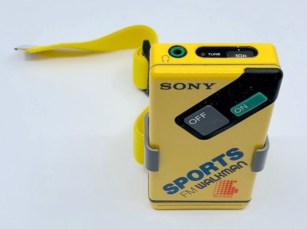 Sony Walkman SR-F4 Sports Radio