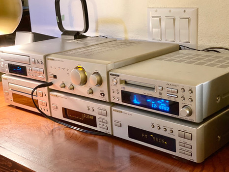 Onkyo Hi-MD Mini Stereo System
