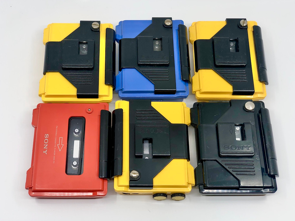 Sony Walkman WM-F5 Sports All Weather Portable Cassette Players
