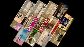 Sony Cassette Blanks Type I Type II Type III and Type IV Collection