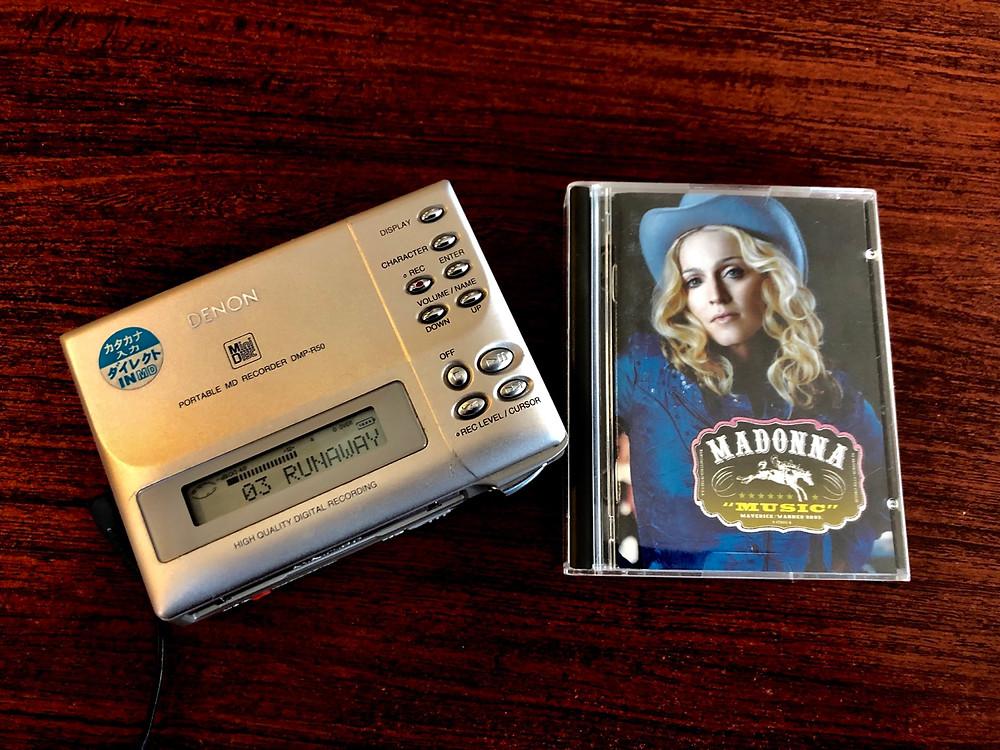 Madonna - Music MiniDisc Album