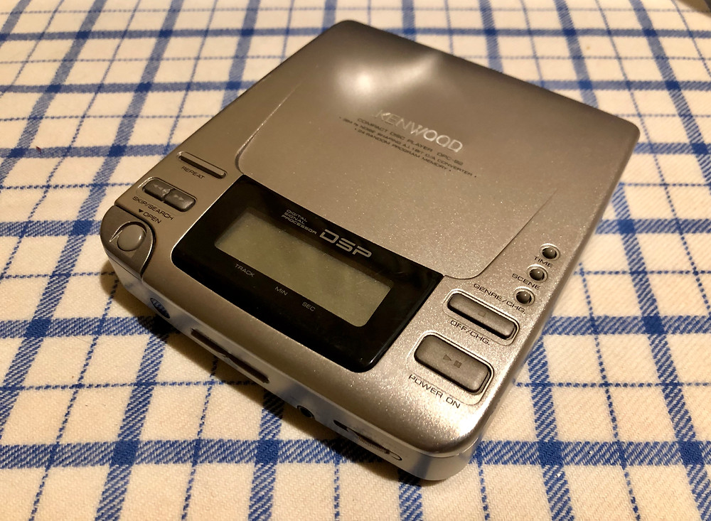 Kenwood DCP-92 Champagne Portable CD Player