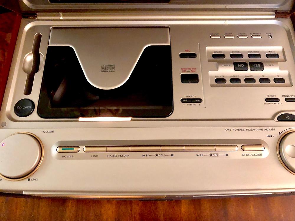 Sony Celebrity II MD-7000