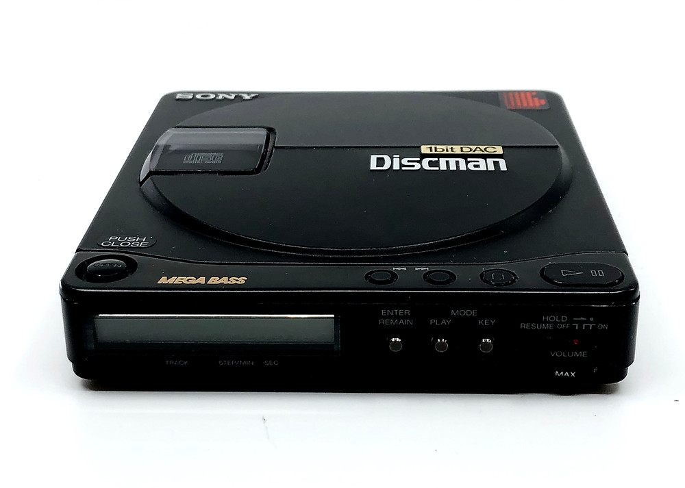 Sony Discman D-99 Portable CD Player
