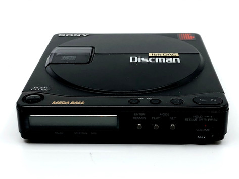 Sony Discman D-99 Portable CD Player