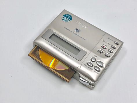 Denon DMP-R50 Silver MD Recorder