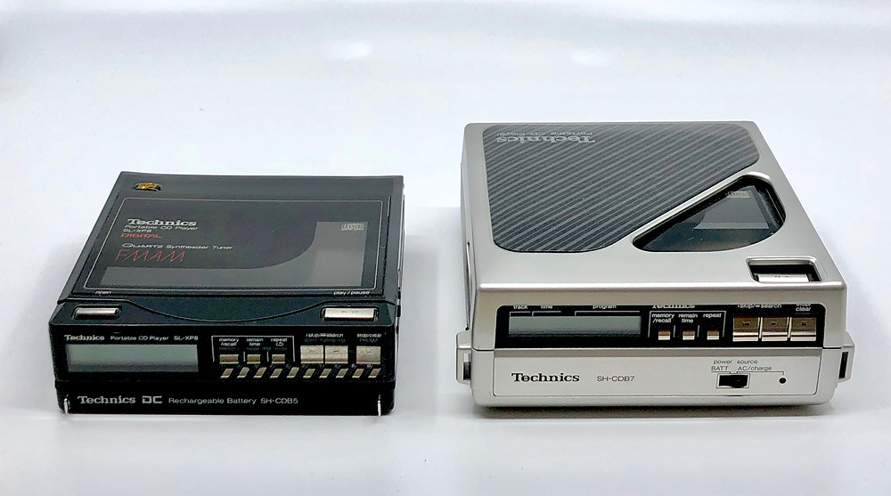 Technics SL-XP7, SL-XP8 Comparison