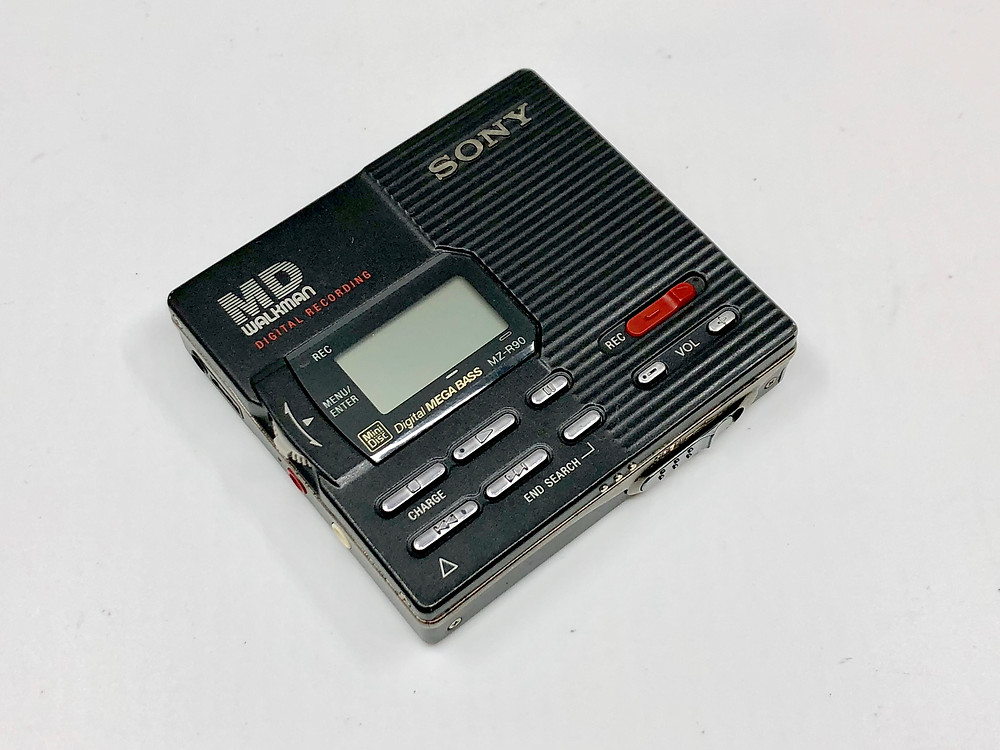 Sony MZ-R90 Black MD Recorder
