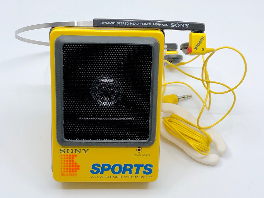 Sony Sports SRS-35 Active Speaker System