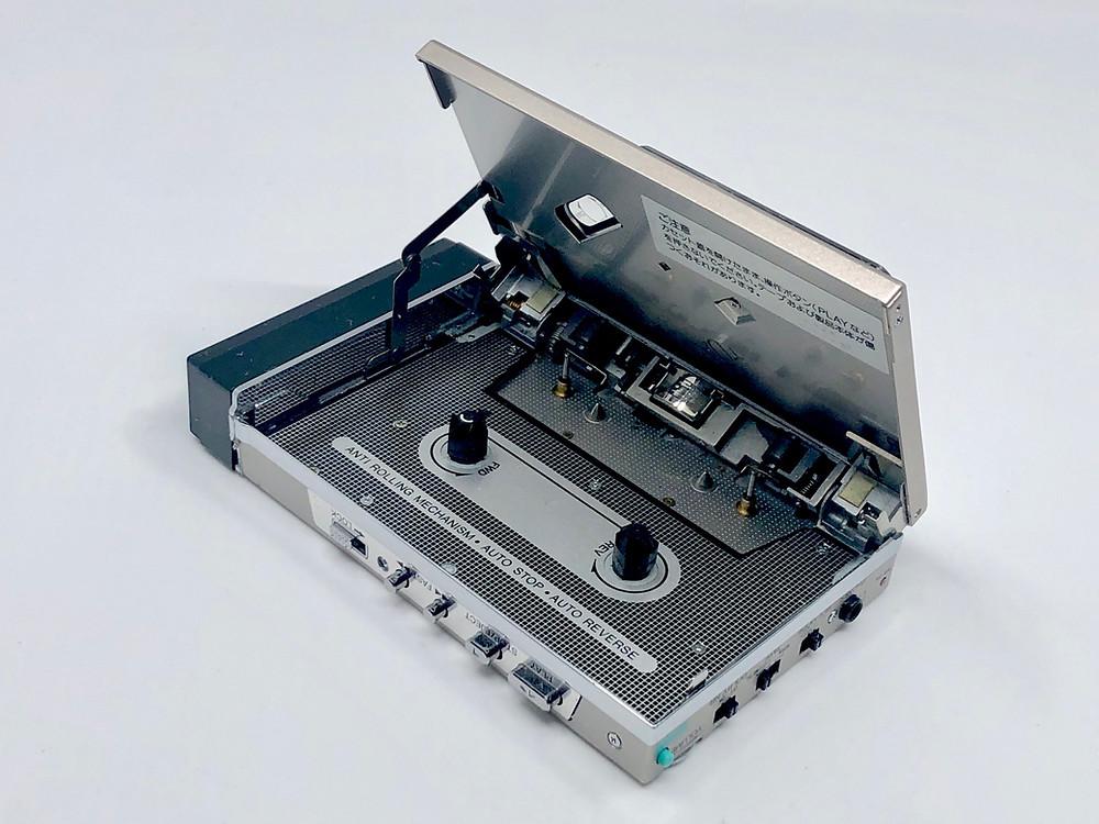 Sharp JC-K10 Silver Cassette Player