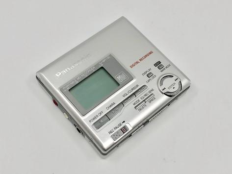Panasonic SJ-MR100S Silver MD Recorder