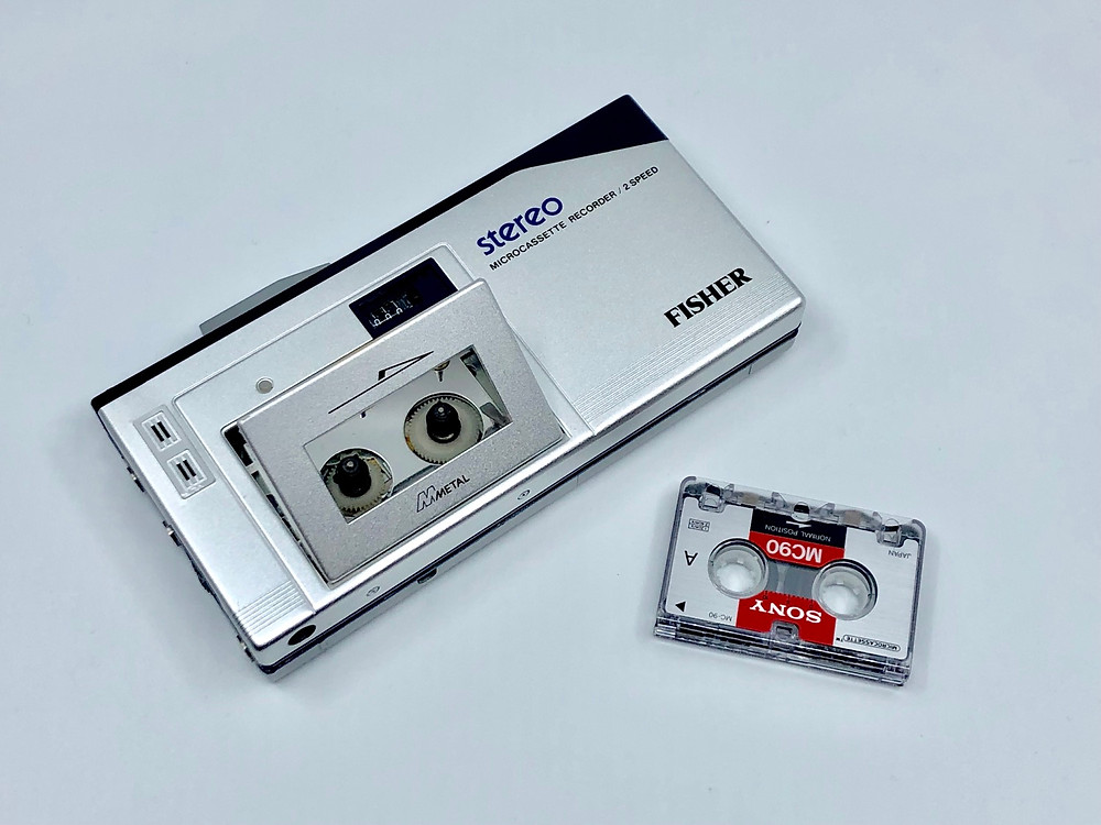 Fisher PH-M85 Stereo/Metal Microcassette Recorder system