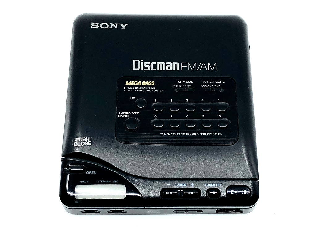 Sony Discman D-T66 Portable CD Player