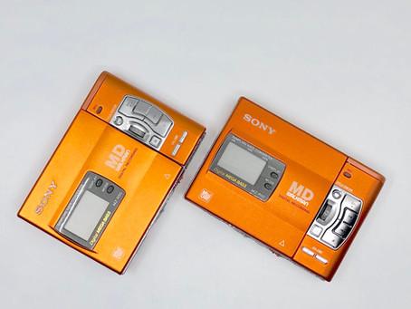 Sony MZ-R50 MiniDisc Recorder Orange