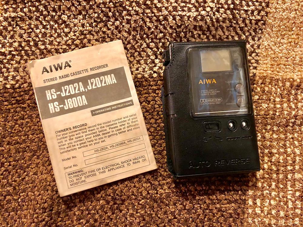 Aiwa HS-J800 Portable Cassette Player